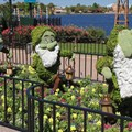 International Flower and Garden Festival - 2013 Epcot Flower and Garden Festival - Dwarfs Topiary