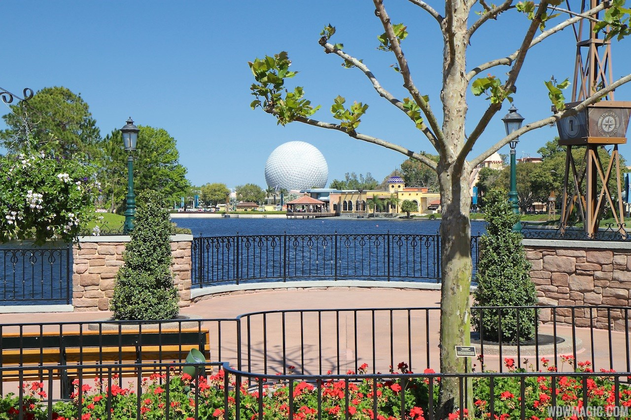 2013 Epcot International Flower and Garden Festival opening day tour
