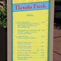 Epcot International Flower and Garden Festival - 2013 Epcot Flower and Garden Festival - Garden Marketplace - Florida Fresh menu