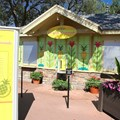 International Flower and Garden Festival - 2013 Epcot Flower and Garden Festival - Garden Marketplace - Pineapple Promenade kiosk