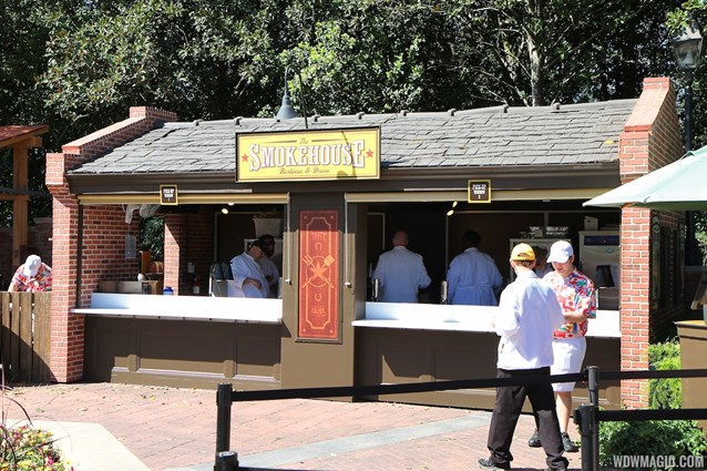 Epcot International Flower and Garden Festival - 2013 Epcot Flower and Garden Festival - Garden Marketplace - The Smokehouse kiosk