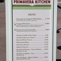 International Flower and Garden Festival - 2013 Epcot Flower and Garden Festival - Garden Marketplace - Primavera Kitchen menu