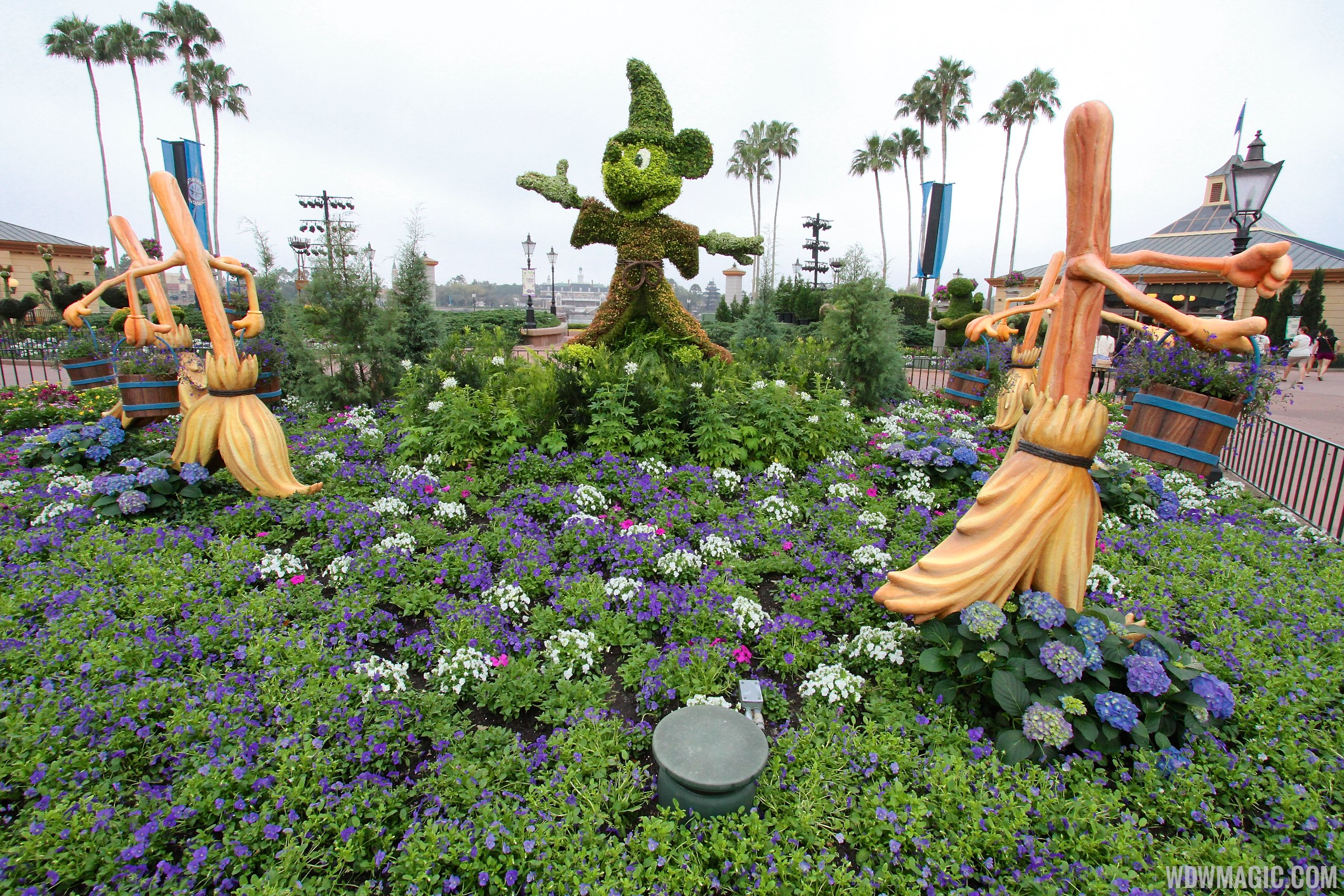 2014 Epcot International Flower And Garden Festival Opening Day Tour Photo 22 Of 82