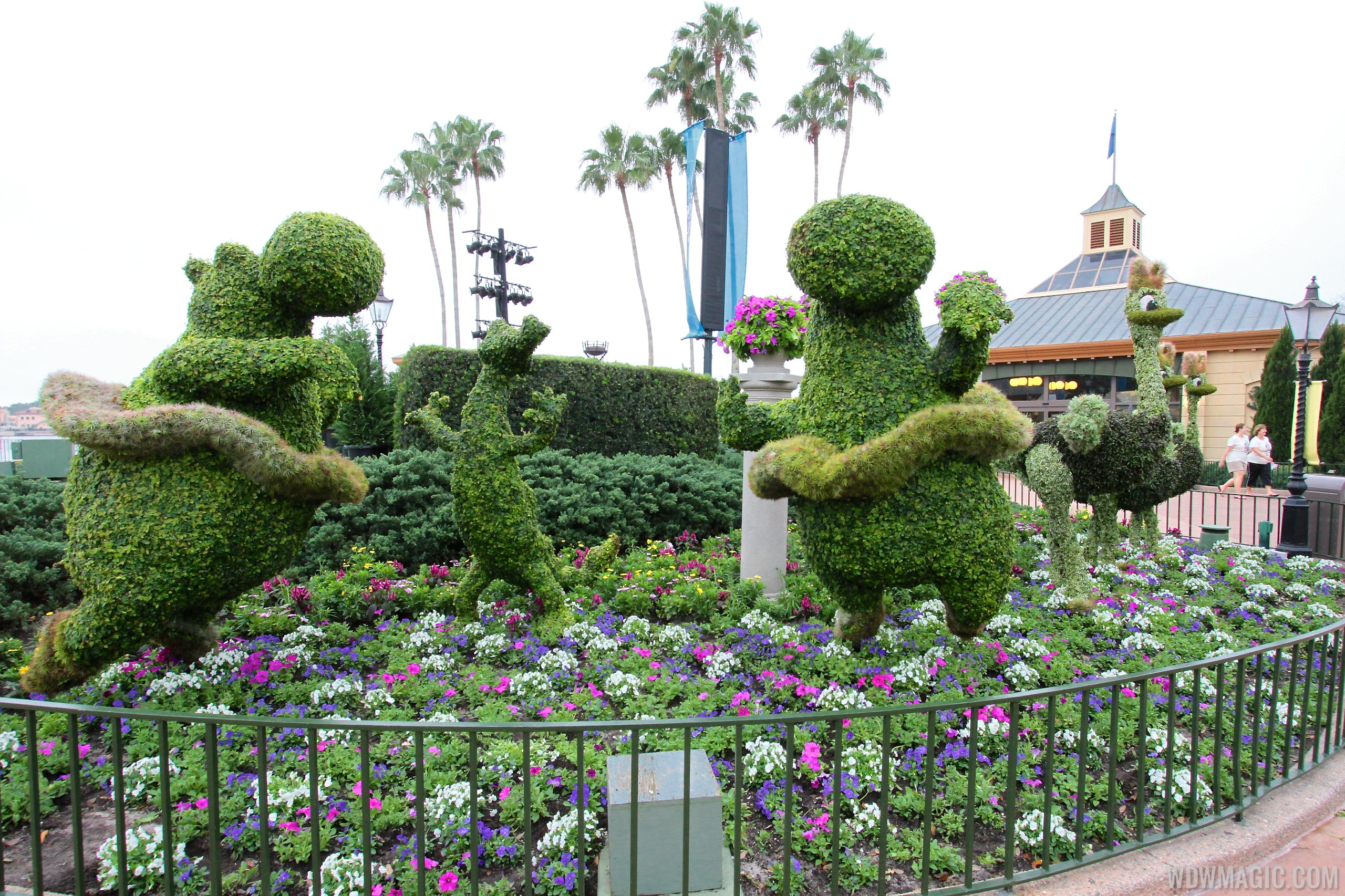 2014 Epcot International Flower And Garden Festival Opening Day Tour Photo 24 Of 82