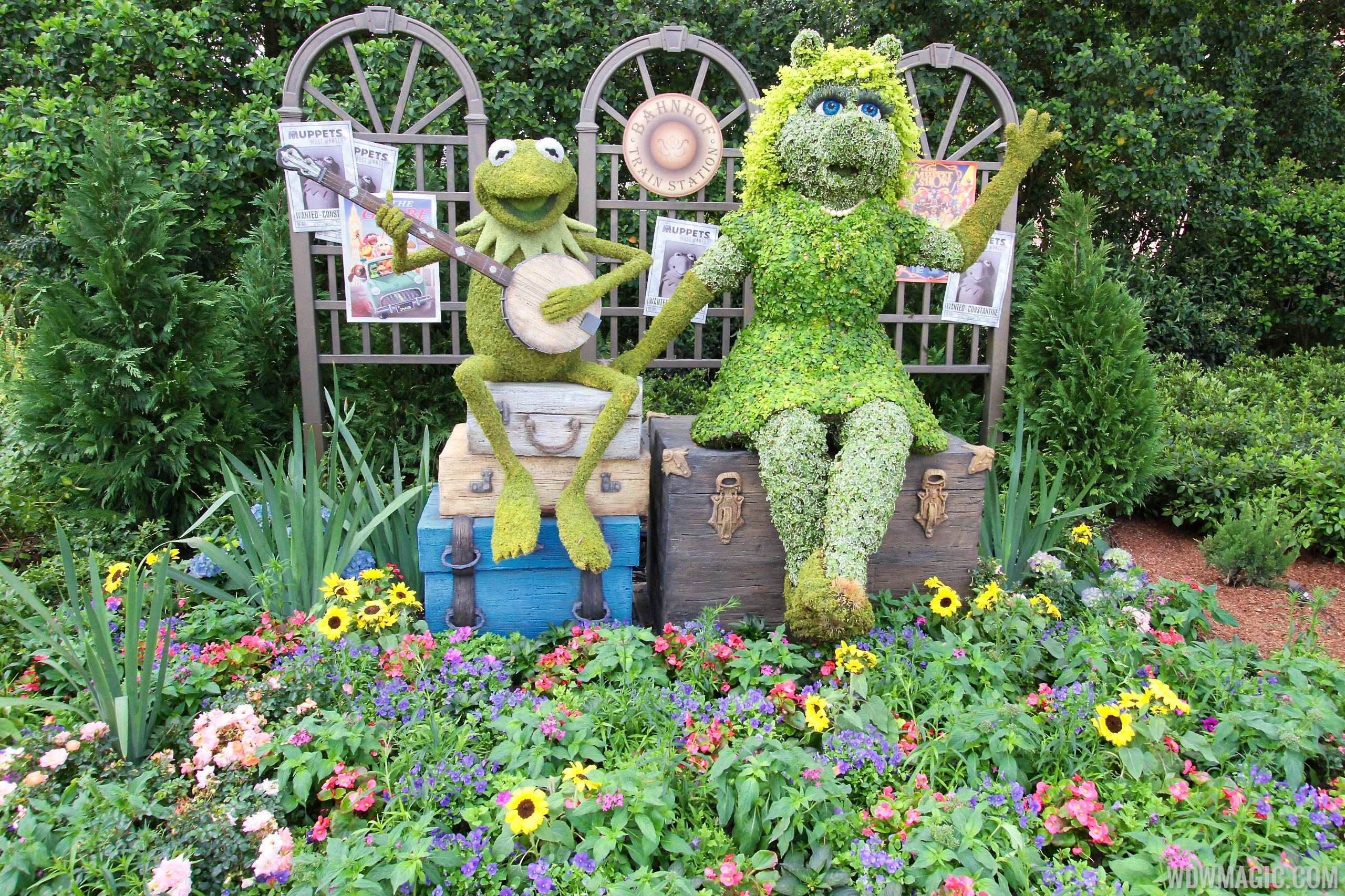 2014 Epcot International Flower And Garden Festival Opening Day Tour Photo 64 Of 82