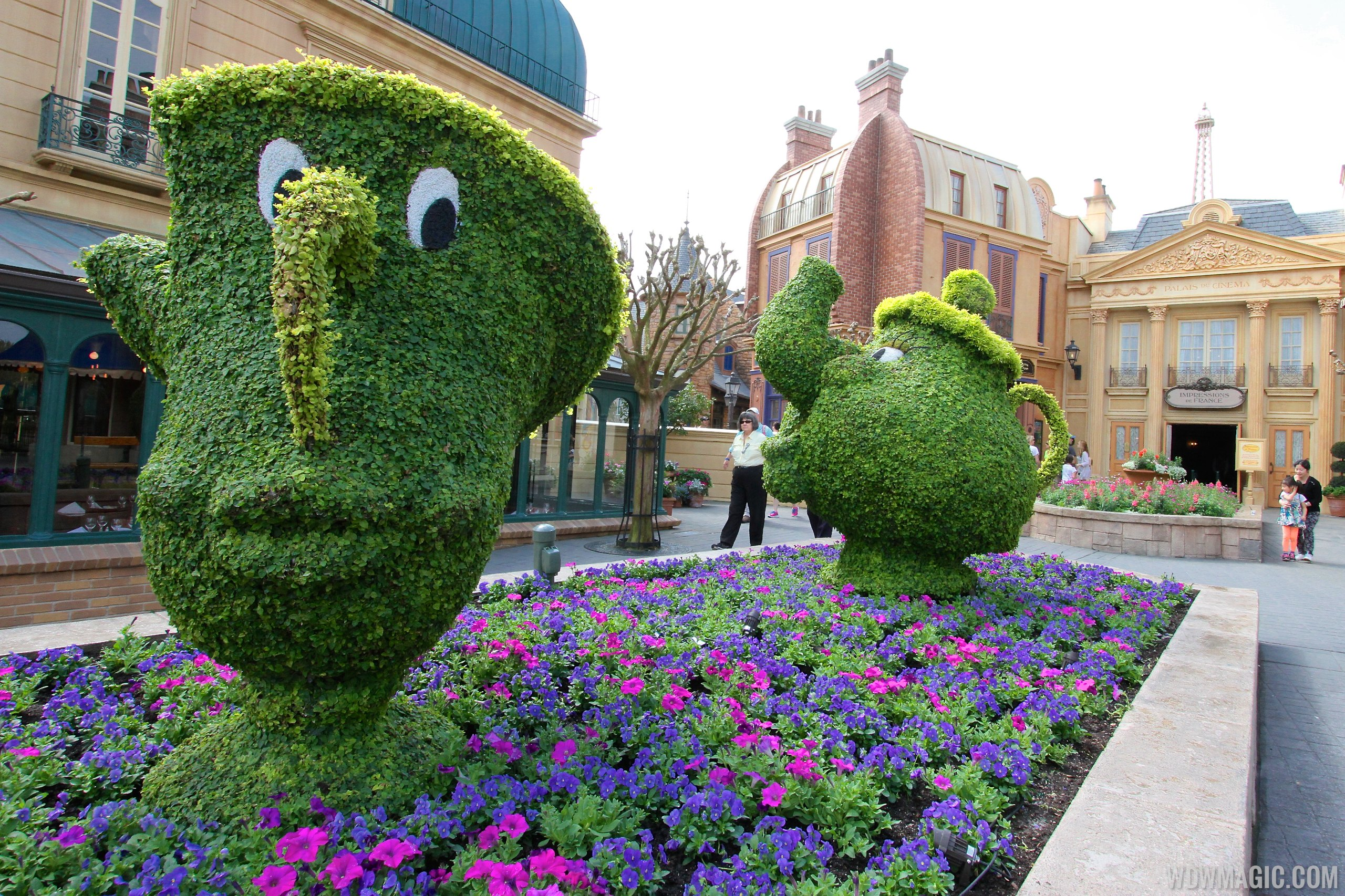 2014 Epcot International Flower And Garden Festival Opening Day Tour Photo 73 Of 82