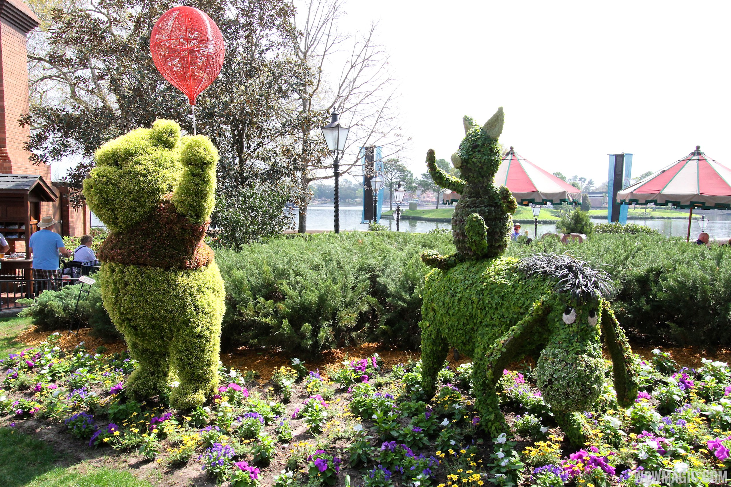 2014 Epcot International Flower And Garden Festival Opening Day Tour Photo 77 Of 82