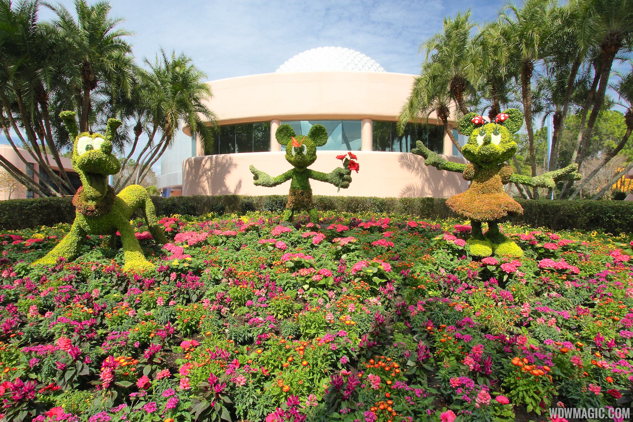 2014 Epcot International Flower And Garden Festival Opening Day Tour Photo 6 Of 82