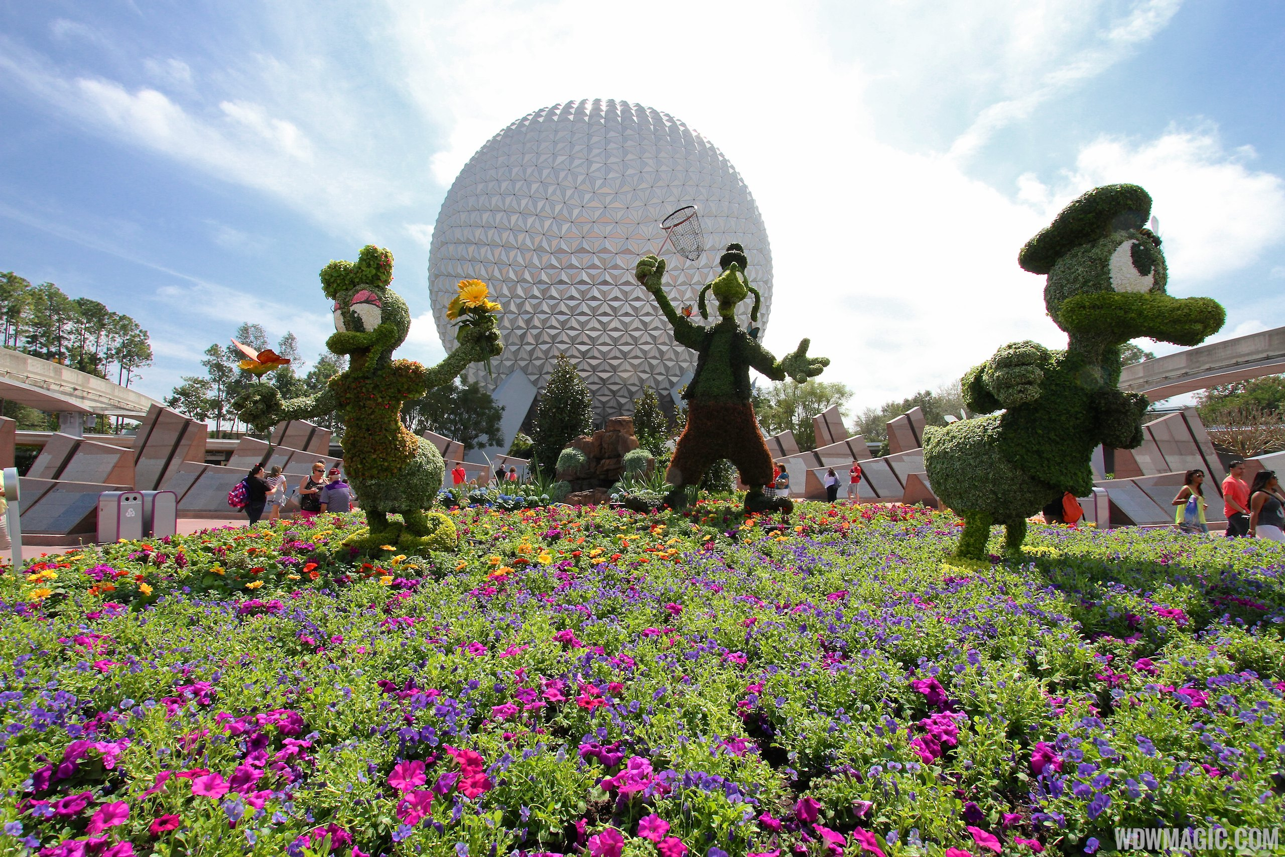 2014 Epcot International Flower And Garden Festival Opening Day Tour Photo 3 Of 82