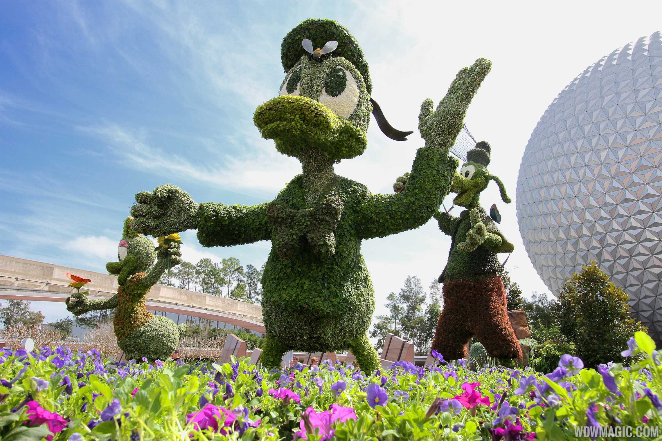 2014 Epcot International Flower And Garden Festival Opening Day Tour Photo 4 Of 82