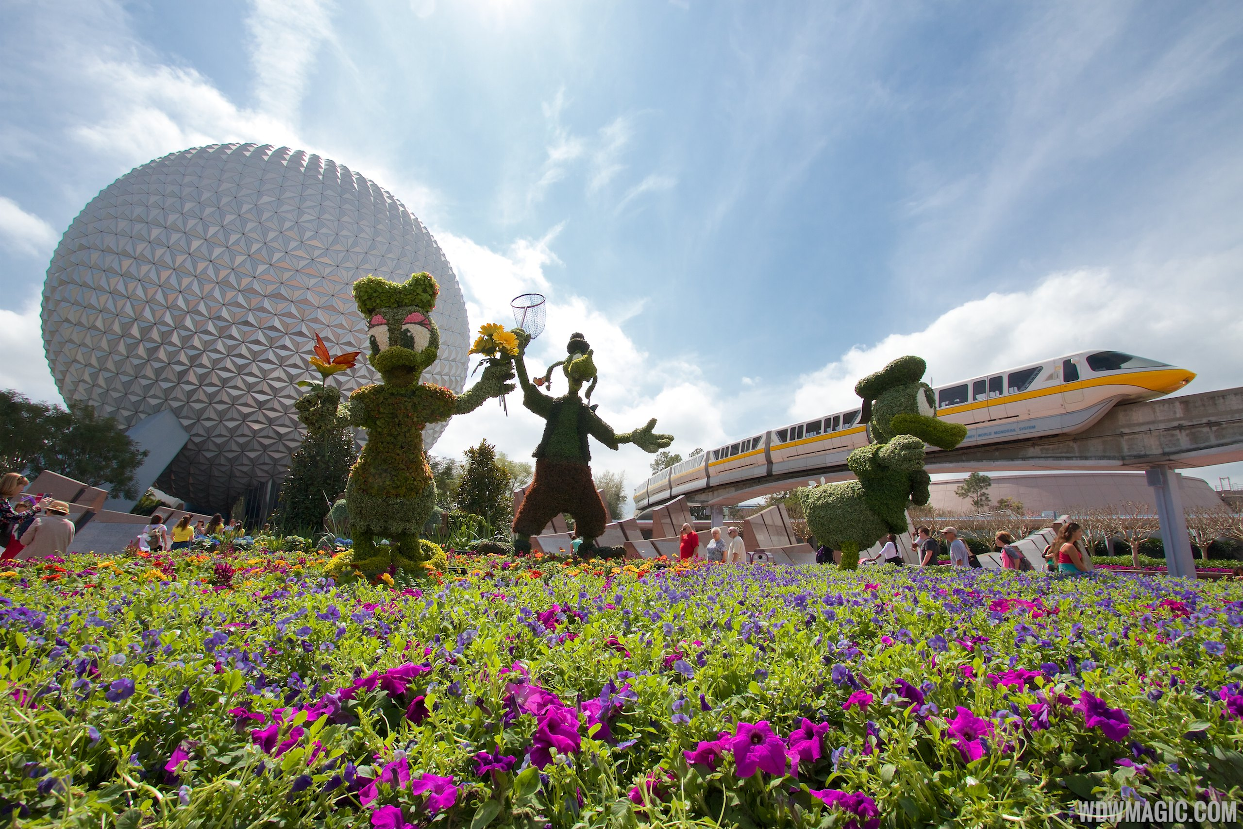 2014 Epcot International Flower And Garden Festival Opening Day Tour Photo 1 Of 82
