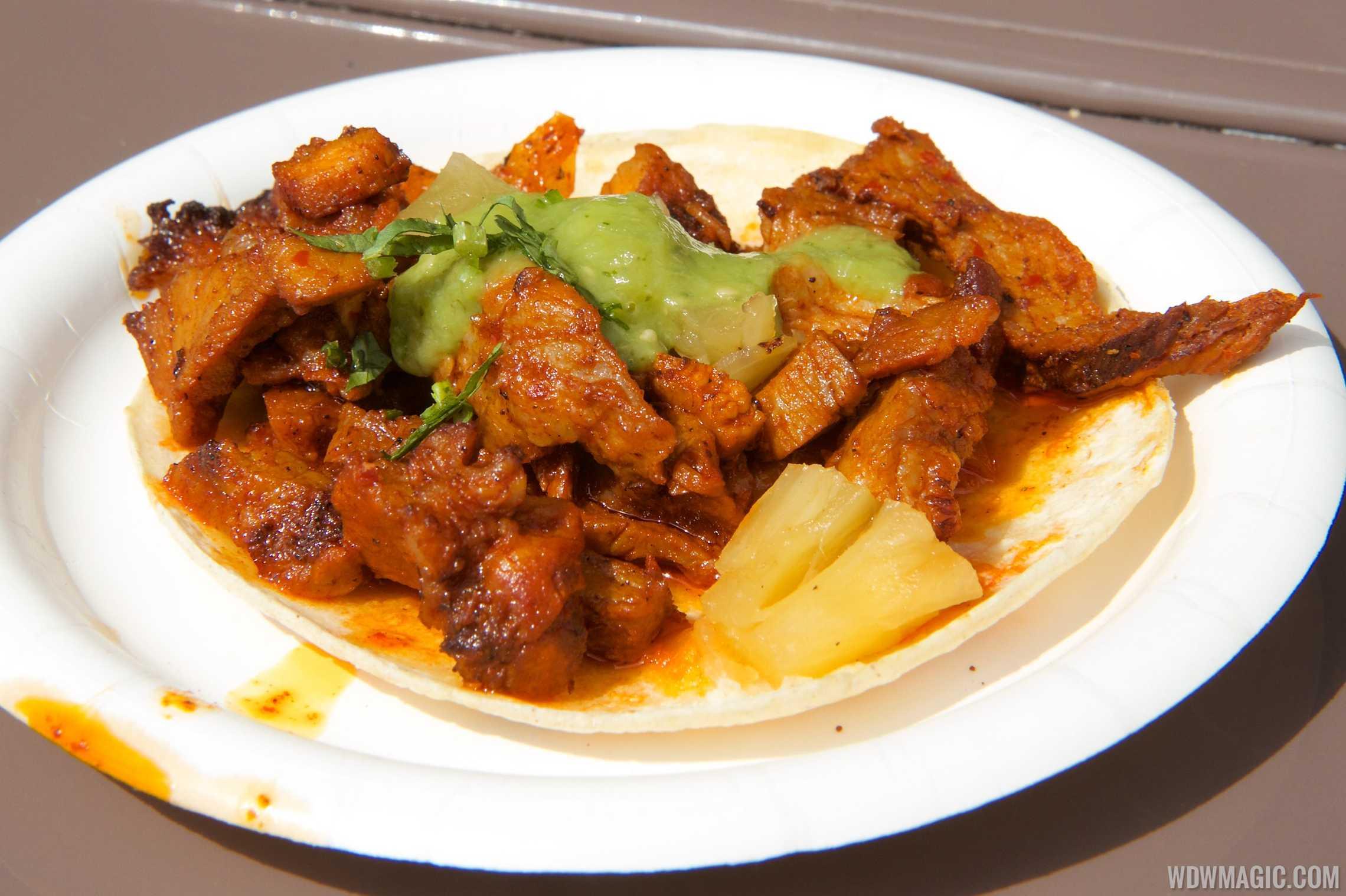 Jardin de Fiestas Mexico - Taco al Pastor $5.50