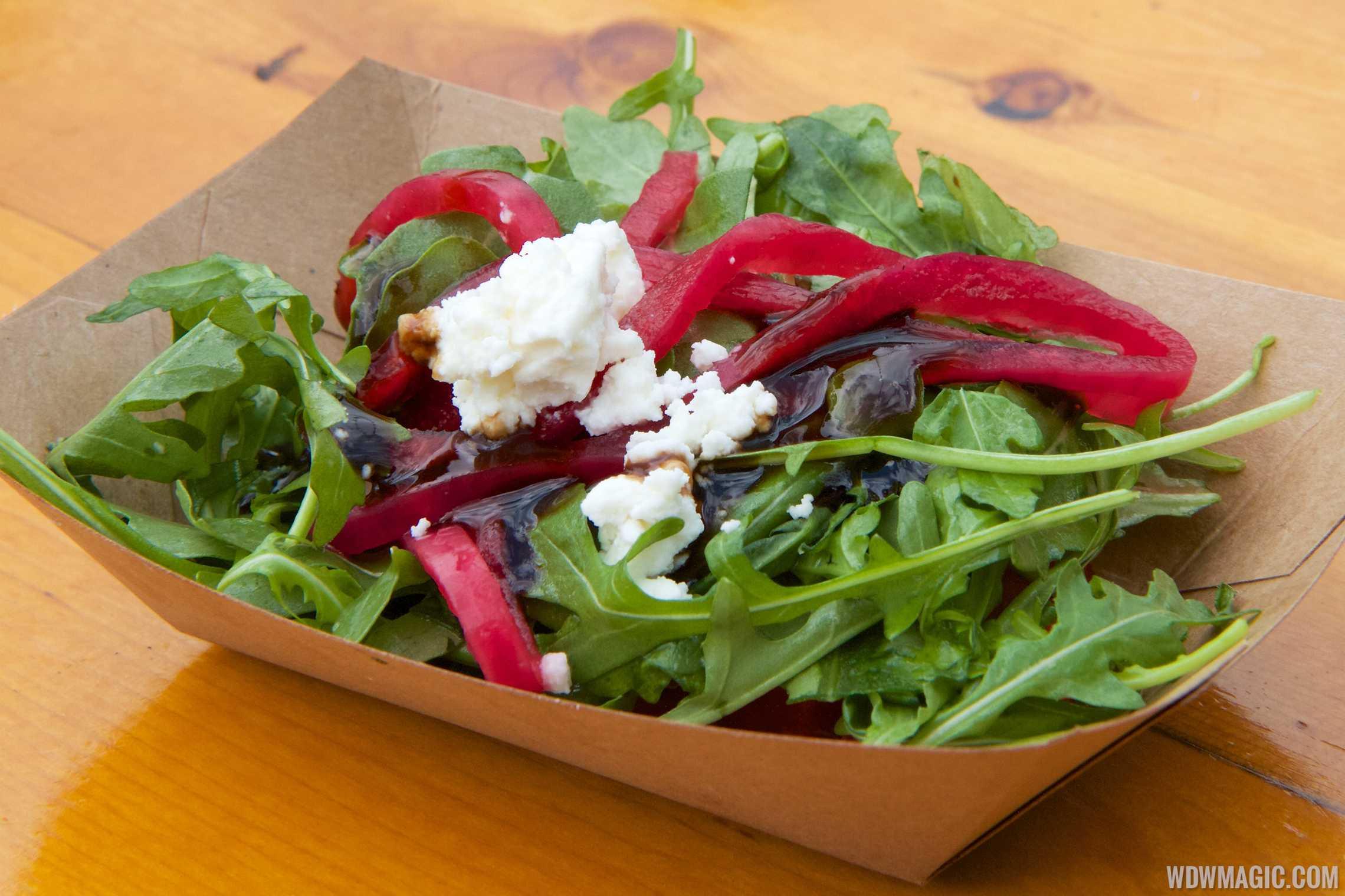 2014 Epcot Flower and Garden Festival Outdoor Kitchen kiosk - Florida Fresh - Watermelon Salad $3.50