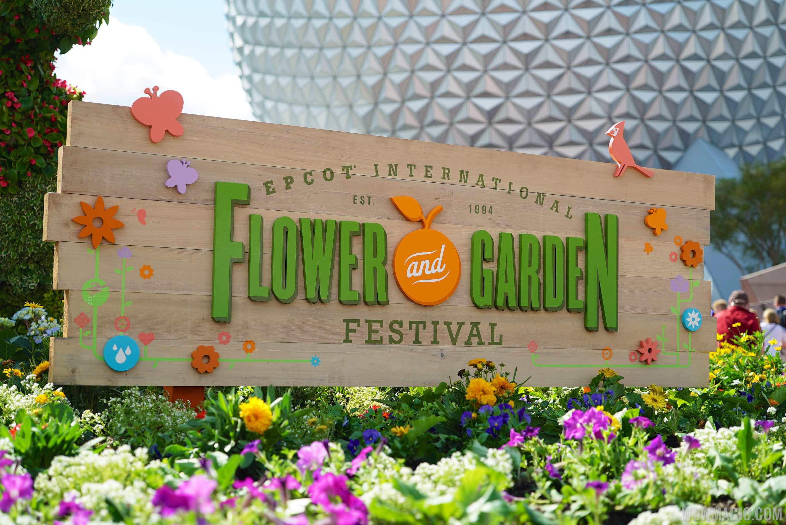 Epcot International Flower and Garden Festival - 2015 Epcot Flower and ...
