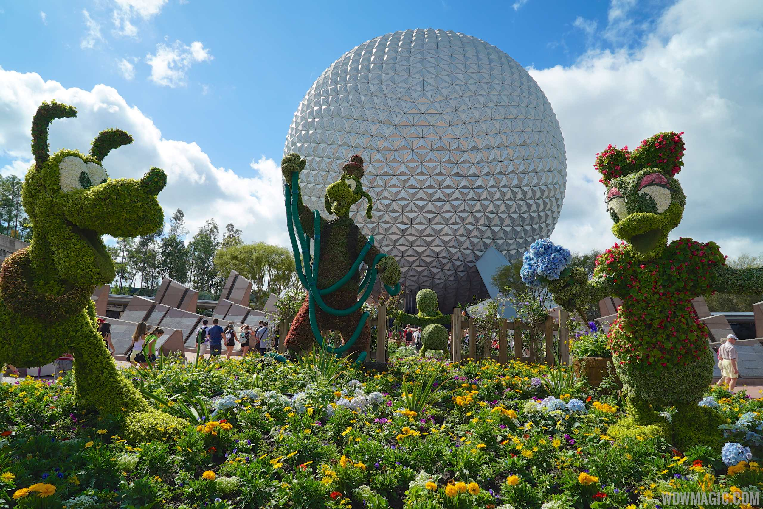 2015 Epcot International Flower And Garden Festival Opening Day Tour Photo 1 Of 74