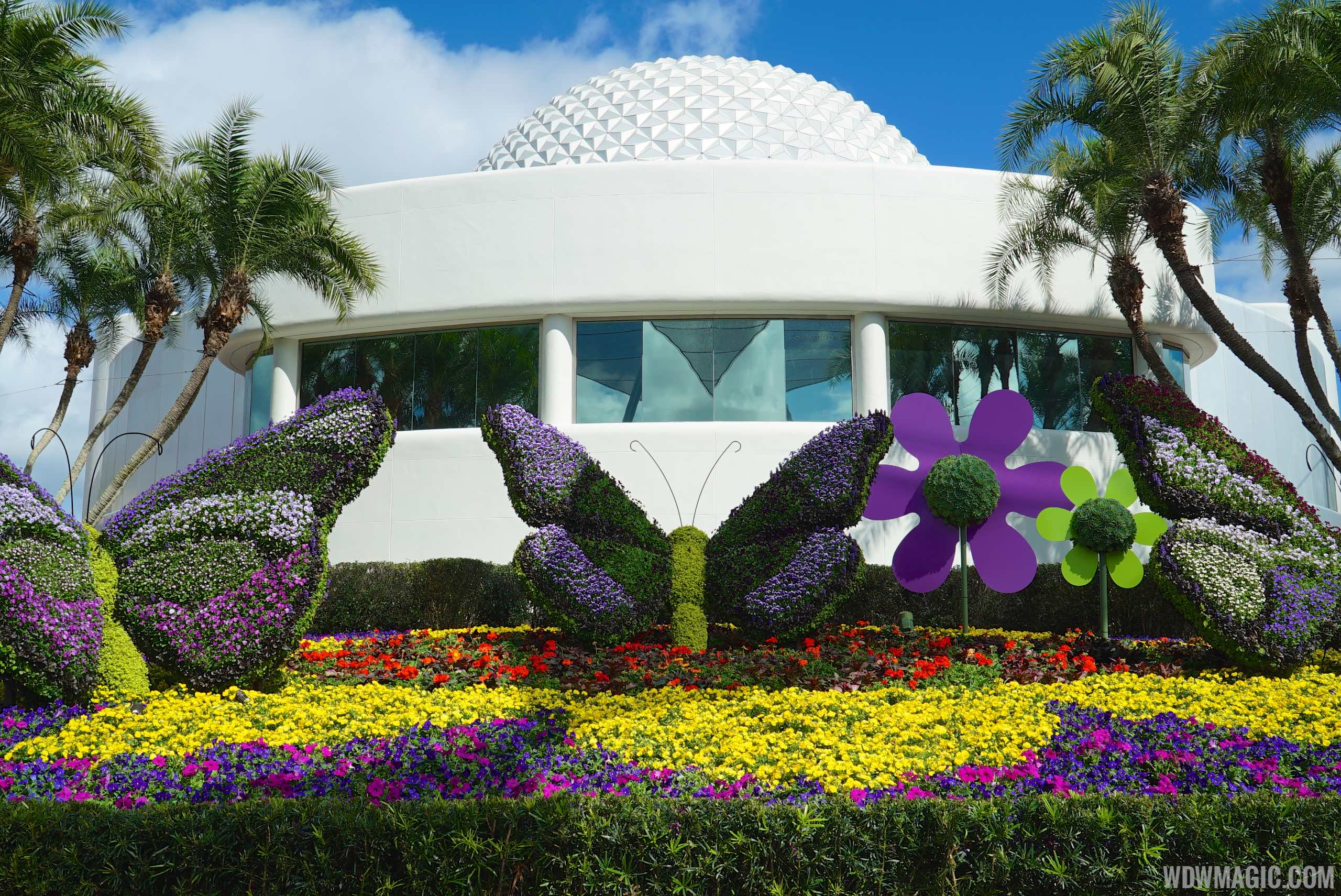 2015 Epcot International Flower And Garden Festival Opening Day Tour Photo 13 Of 74