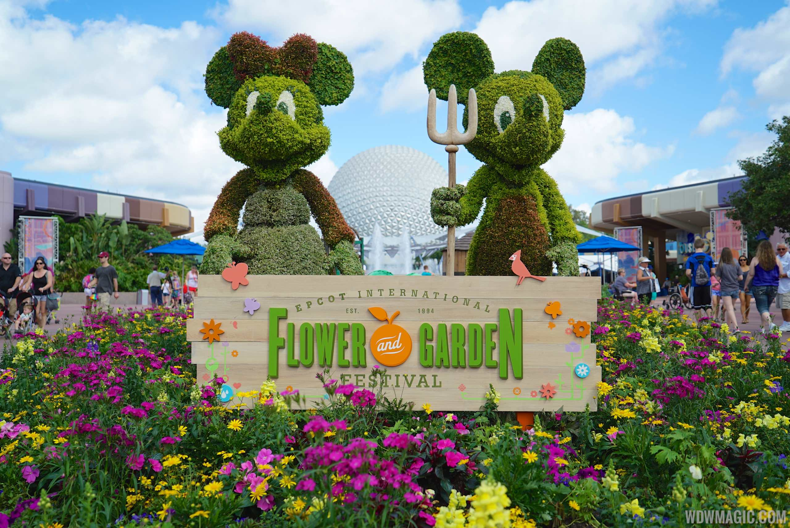 2015 epcot international flower and garden festival for Flowers and gardens pictures
