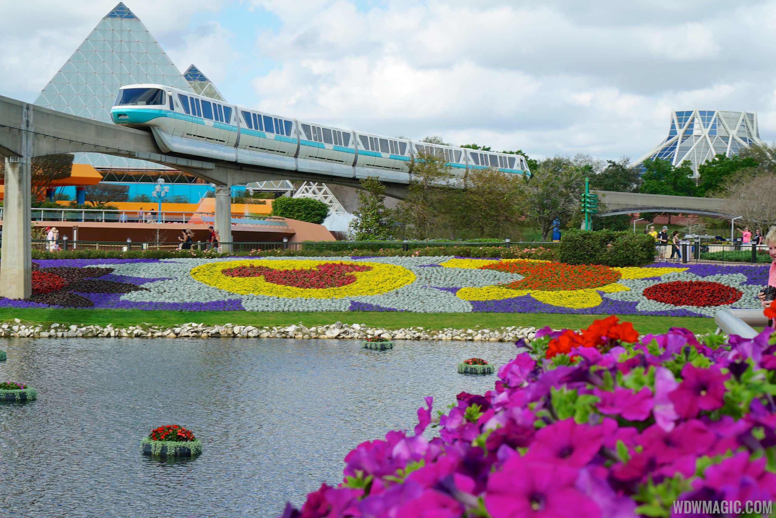2015 Epcot International Flower and Garden Festival opening day tour