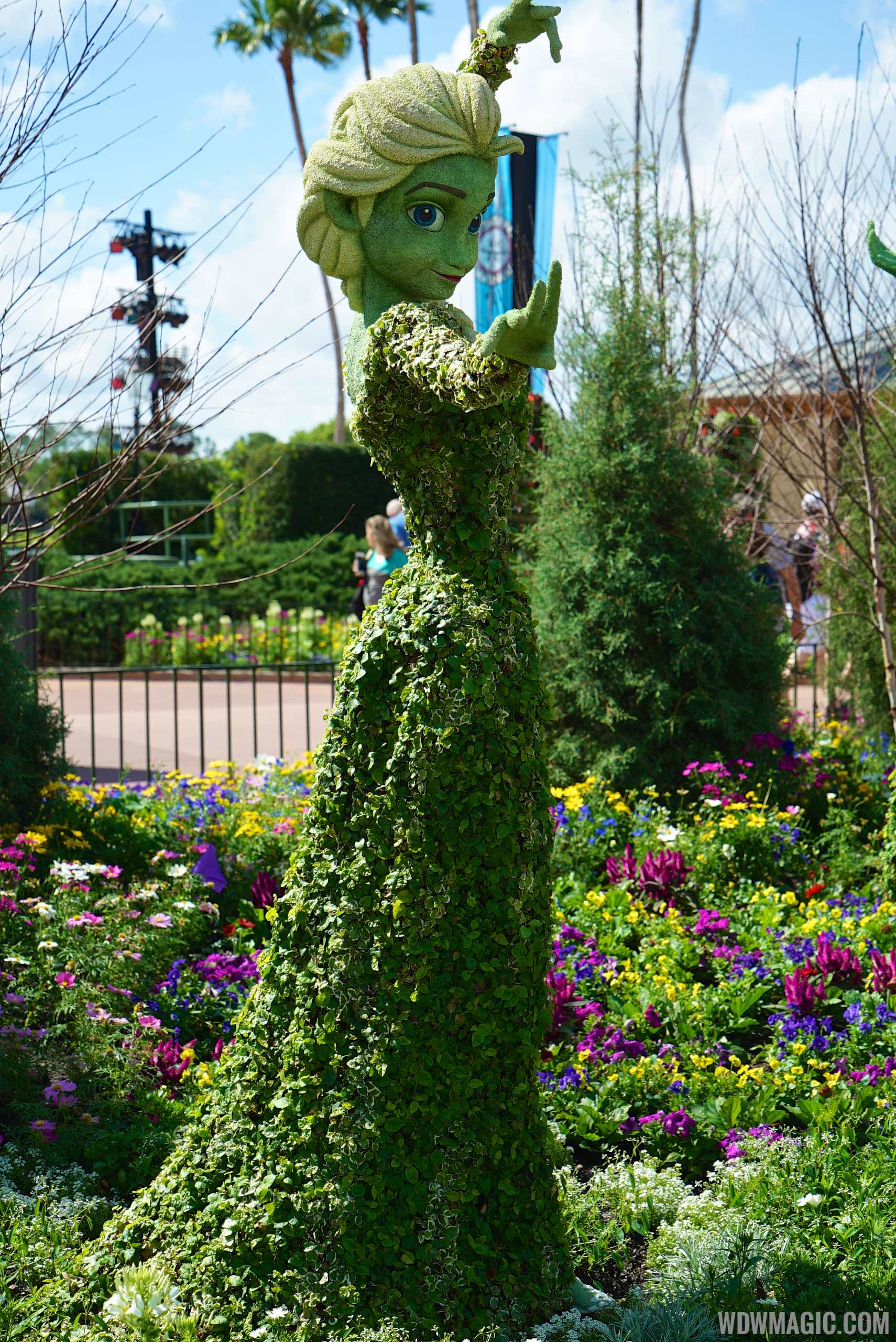 2015 Epcot International Flower And Garden Festival Opening Day Tour Photo 43 Of 74
