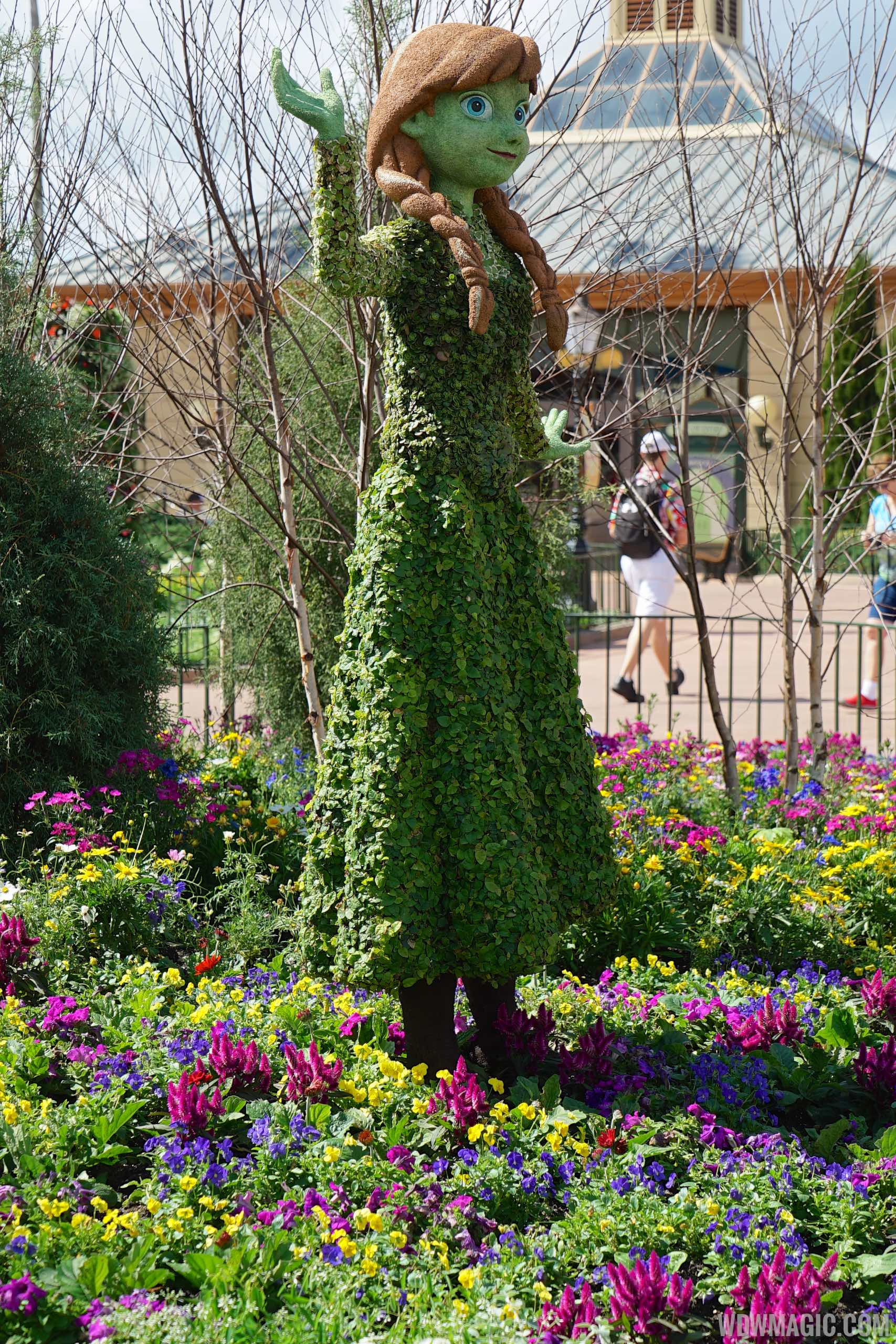 2015 Epcot International Flower And Garden Festival Opening Day Tour Photo 44 Of 74
