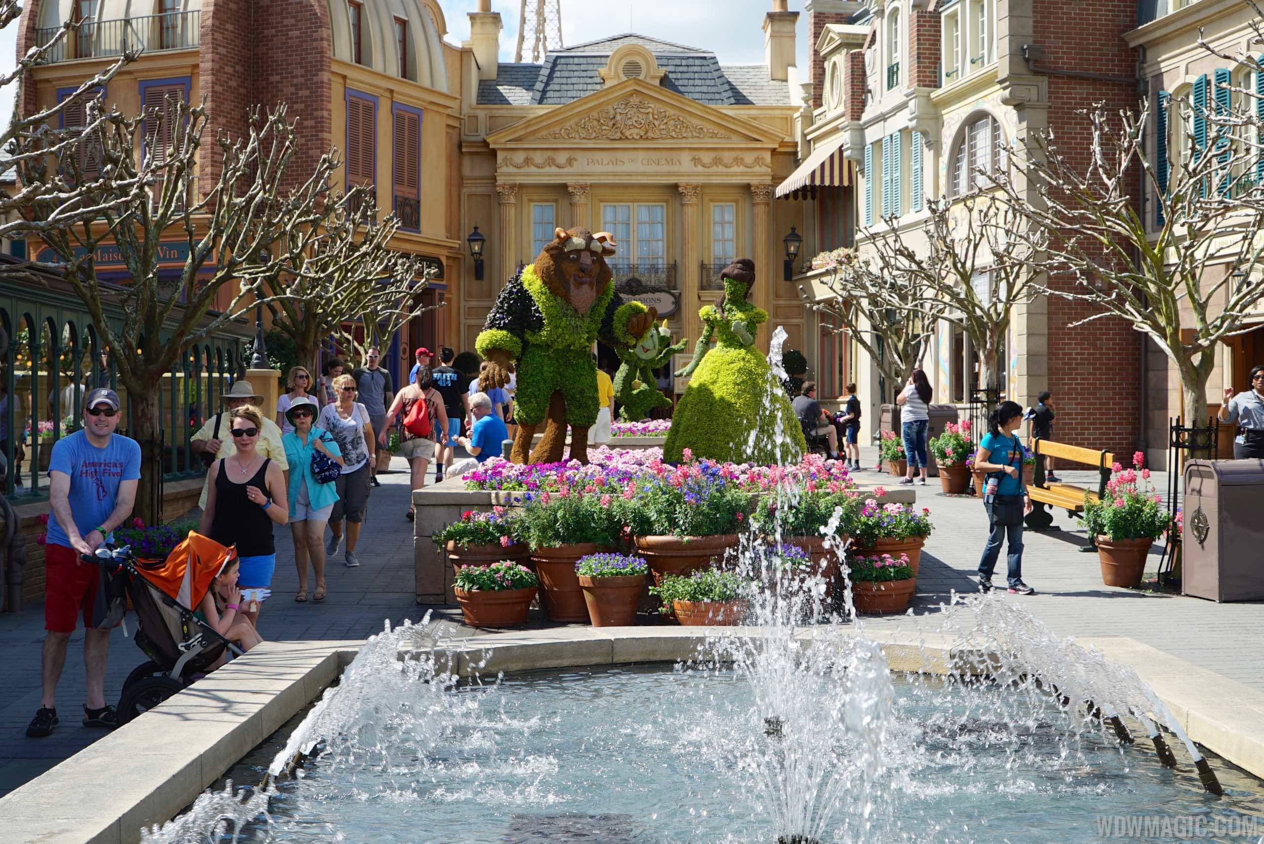 2015 Epcot International Flower And Garden Festival Opening Day Tour Photo 56 Of 74