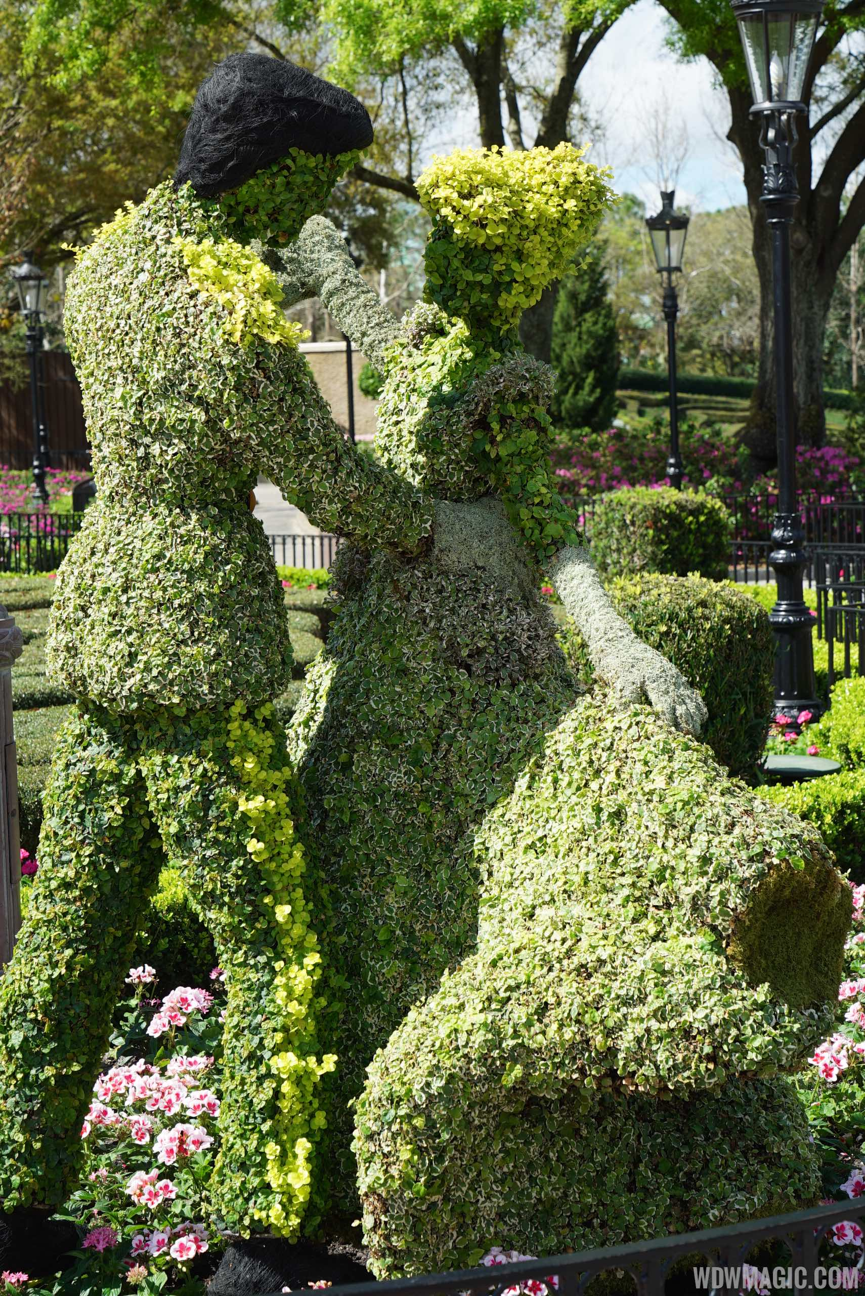2015 Epcot International Flower And Garden Festival Opening Day Tour Photo 57 Of 74