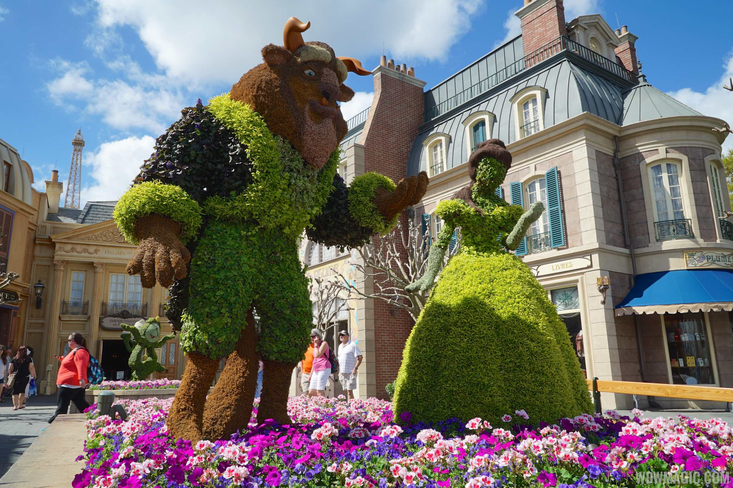 2015 Epcot International Flower And Garden Festival Opening Day Tour Photo 58 Of 74