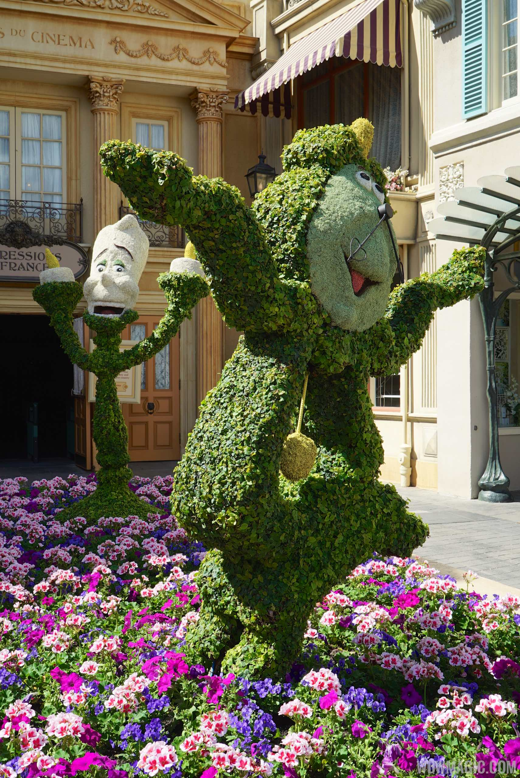 2015 Epcot International Flower And Garden Festival Opening Day Tour Photo 59 Of 74