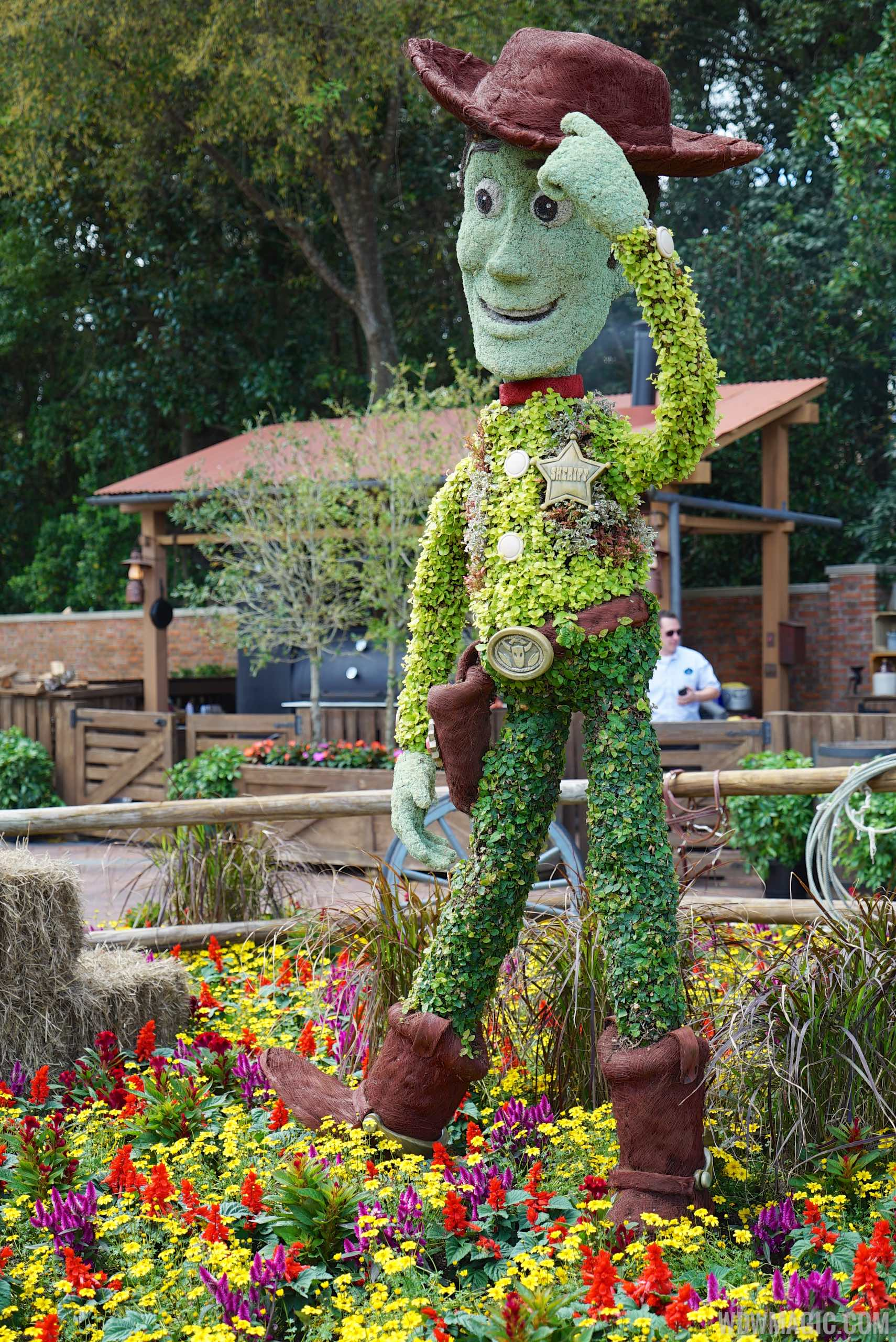 2015 Epcot International Flower And Garden Festival Opening Day Tour Photo 61 Of 74
