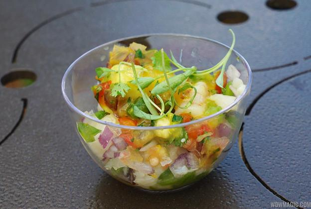 2015 Epcot Flower and Garden Festival Outdoor Kitchen kiosks food and drink