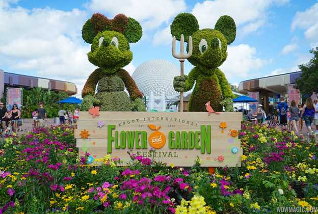 Epcot International Flower and Garden Festival overview