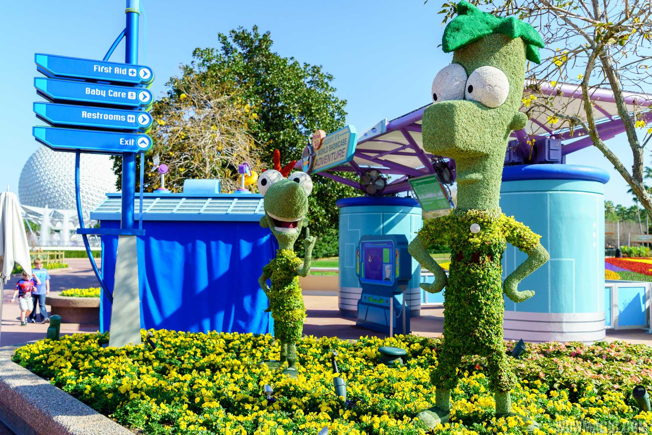 2016 Epcot International Flower And Garden Festival Topiary Tour Photo 20 Of 88