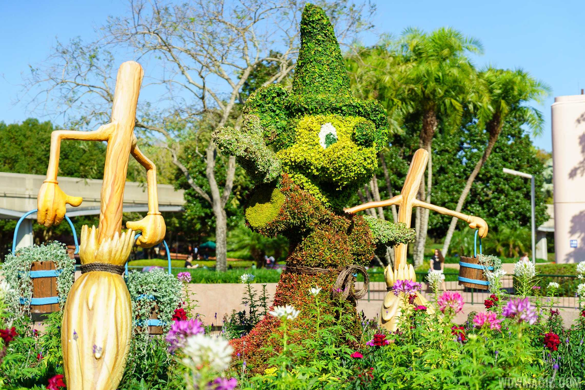 2016 Epcot International Flower And Garden Festival Topiary Tour Photo 22 Of 88