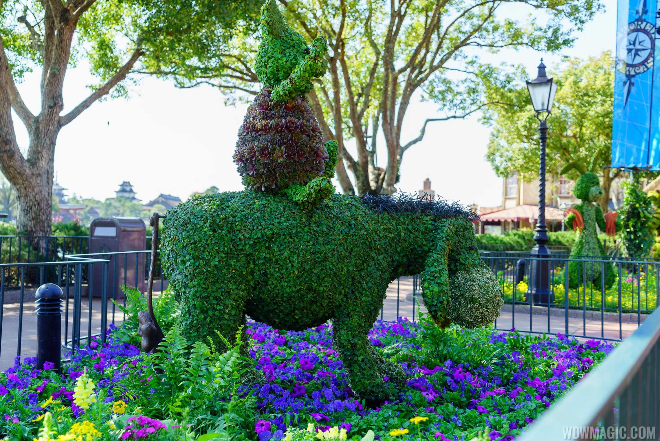2016 Epcot International Flower And Garden Festival Topiary Tour Photo 47 Of 88