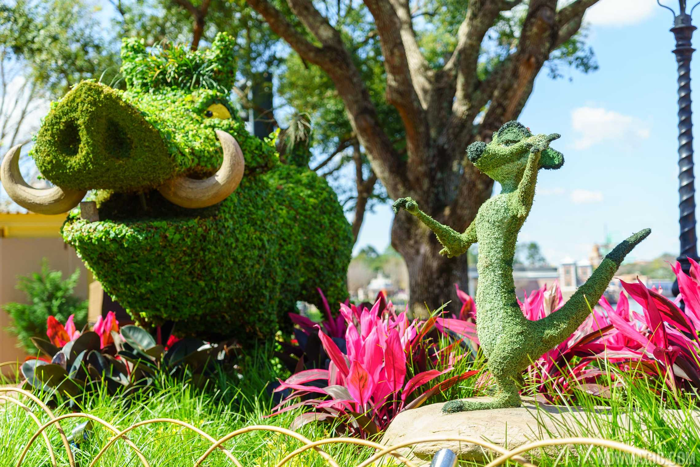 2016 Epcot International Flower And Garden Festival Topiary Tour Photo 81 Of 88