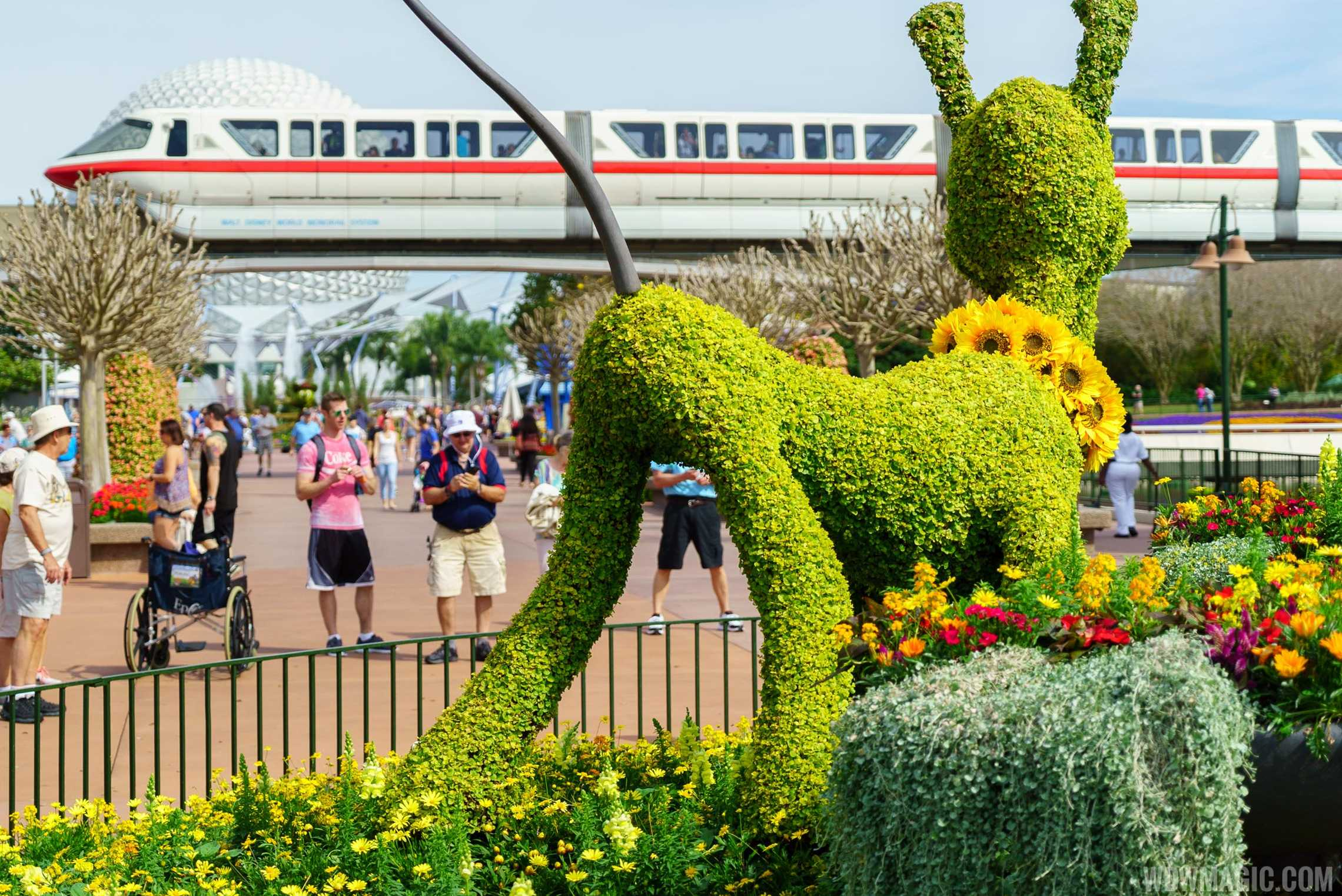 2016 Epcot International Flower And Garden Festival Topiary Tour Photo 37 Of 88