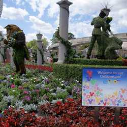 2009 International Flower and Garden Festival opening day