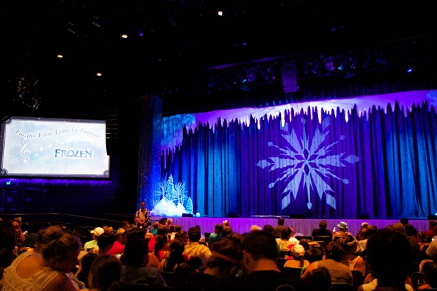 'Frozen' Summer Fun - Live at Disney's Hollywood Studios - Frozen Summer Fun - For The First Time in Forever: A Frozen Sing-Along Celebration stage