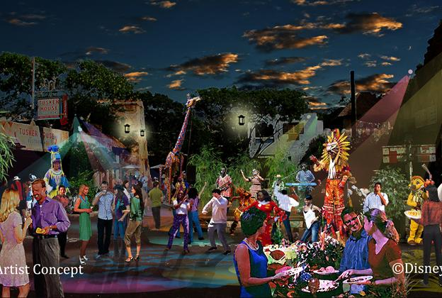 Harambe Nights concept art