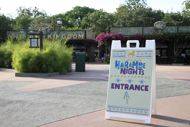 Harambe Nights - Harambe Nights - Main entrance signage