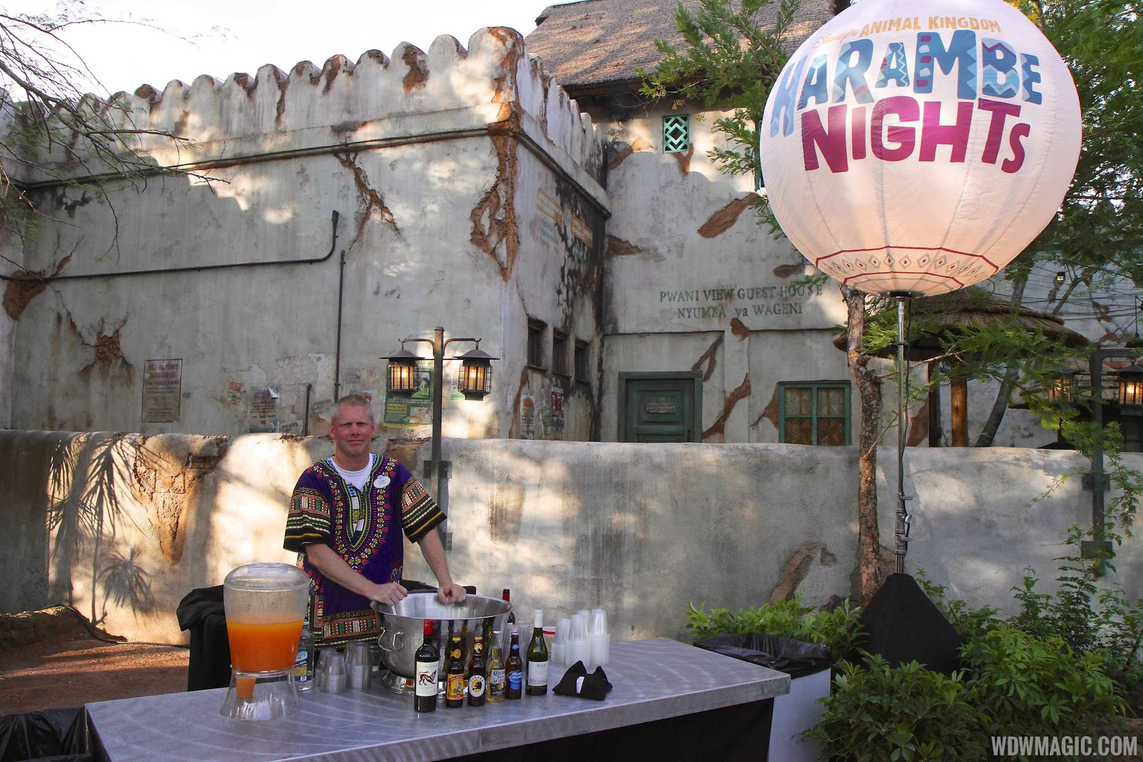 Harambe Nights - Pre-concert bar