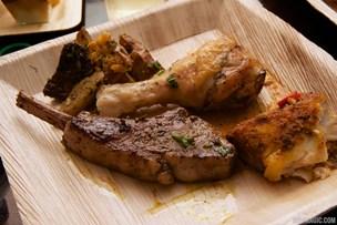 Harambe Nights - Lamb, chicken, corvina