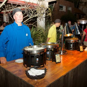 20 of 24: Harambe Nights - Harambe Nights - Buffet food stations