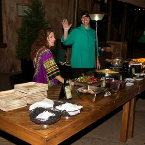21 of 24: Harambe Nights - Harambe Nights - Buffet food stations