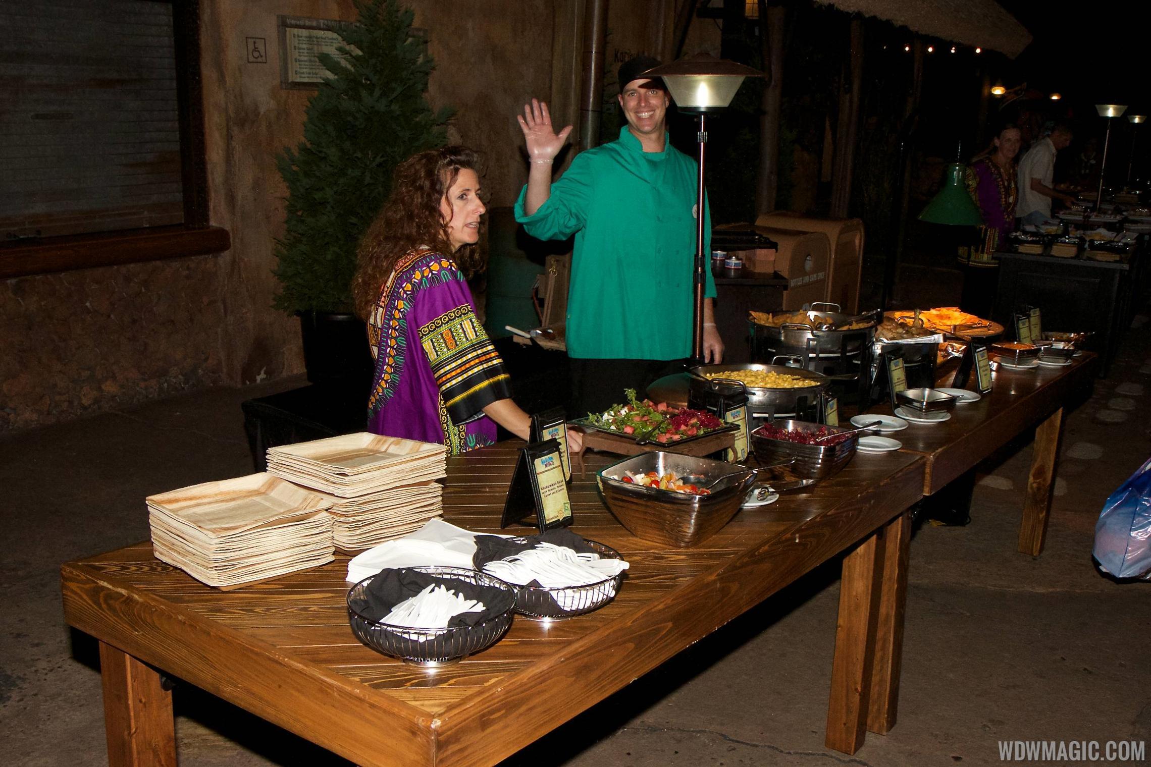 Harambe Nights - Buffet food stations
