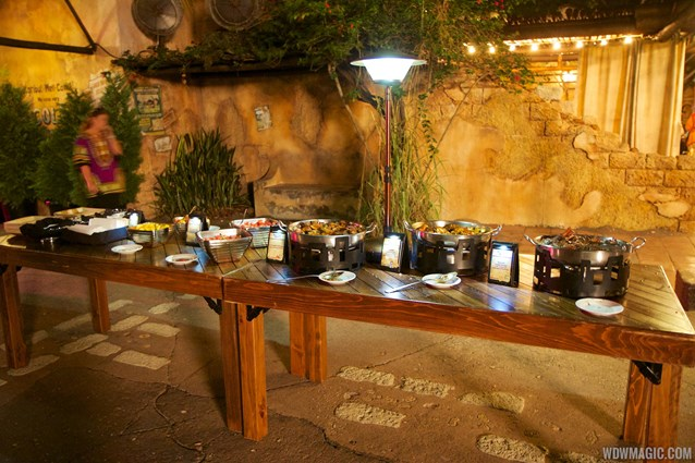 Harambe Nights - Harambe Nights - Buffet food stations