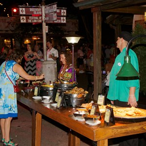 23 of 24: Harambe Nights - Harambe Nights - Buffet food stations
