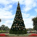 Holidays Around the World at Epcot - The Epcot Christmas tree