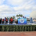 Holidays Around the World at Epcot - JOYFUL stage decorations