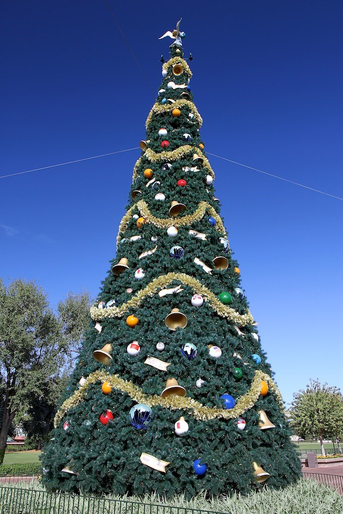 Epcot's 2011 Christmas Tree